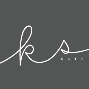 KATE SMETHURST | simple sally designs #initials #handwritten