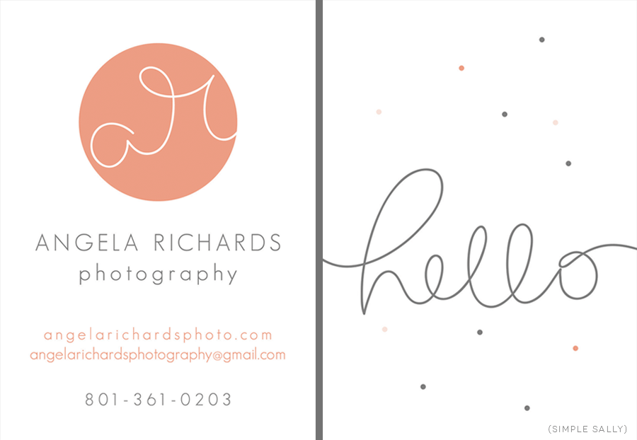 buiness card design » Simple Sally