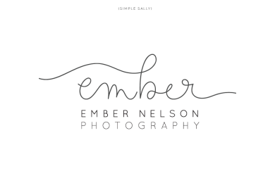 Ember, handwritten logo by Simple Sally