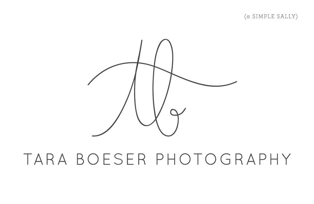 Handwritten initials logo : tb for Tara Boeser : Simple ...