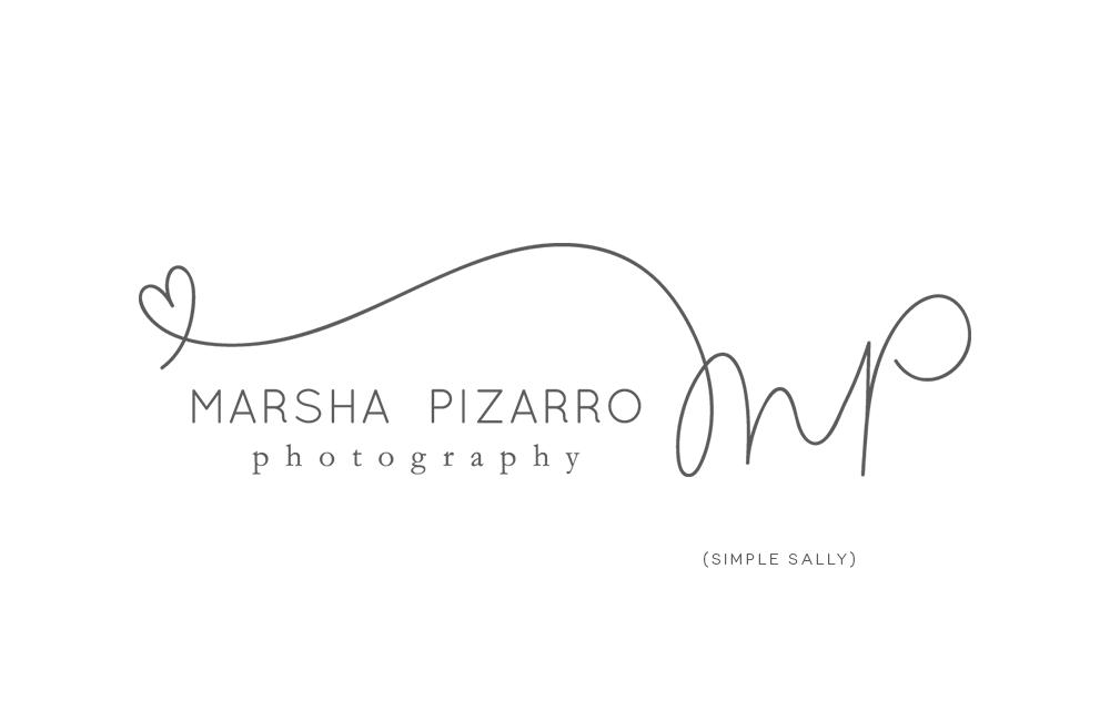 Custom Logos For Photographers Mp For Marsha Pizarro