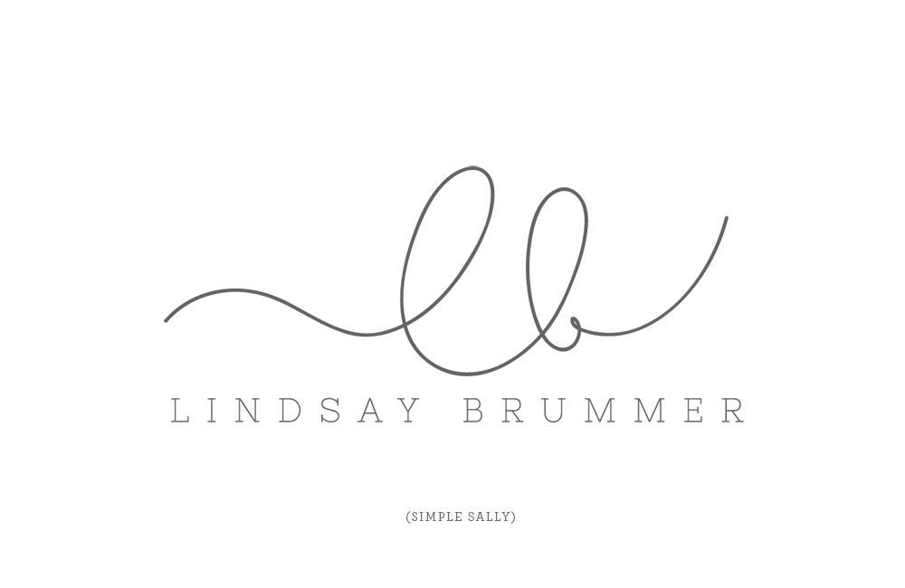Handdrawn initials for photographers | LB » Simple Sally