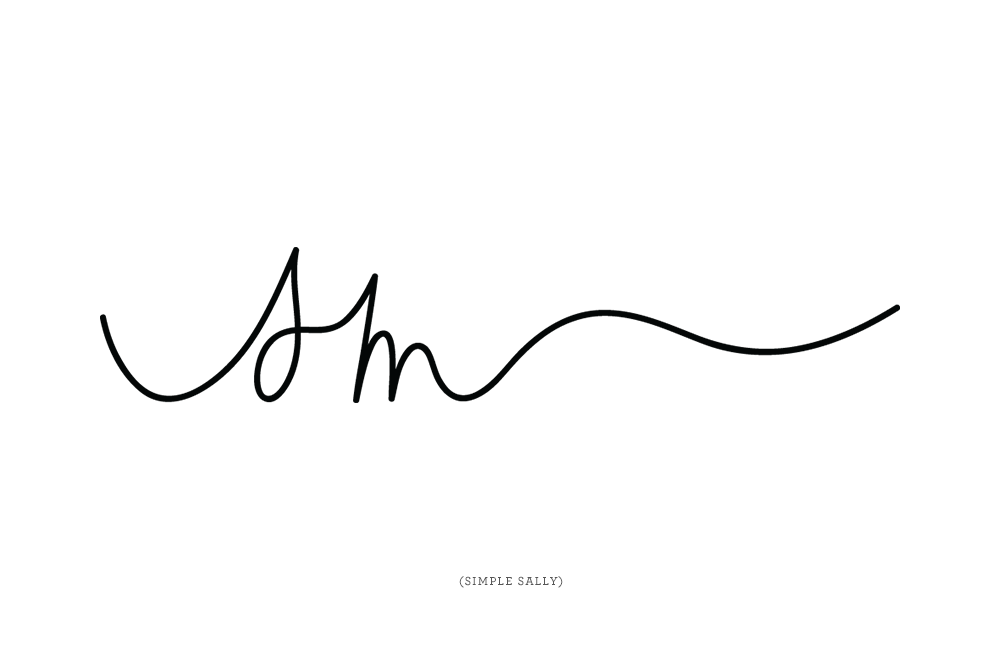 Hand written initials logos for photographers : JL is for Jennifer ...