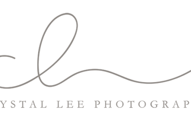 Crystal Lee Photography logo by Simple Sally | www.simplesallydesigns.com