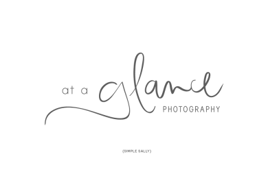 Simple Sally Logo Design | At a Glance Photography