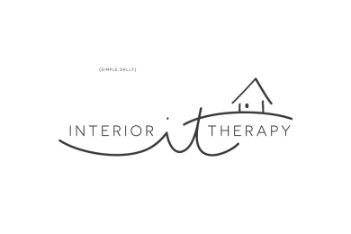 Interior Therapy logo design by Simple Sally | www.simplesallydesigns.com | Logos for Small Businesses