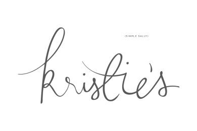 Handlettered logo design by SIMPLE SALLY DESIGNS