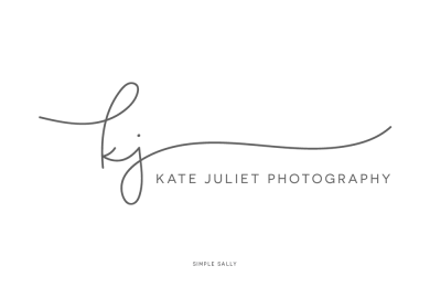 Kate Juliet logo design by Simple Sally