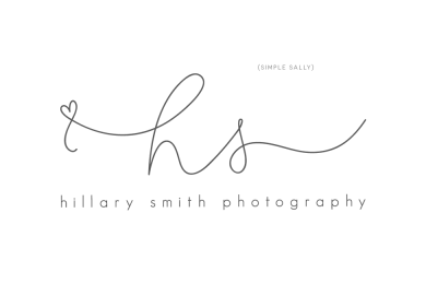 initials hs logo by Simple Sally Designs