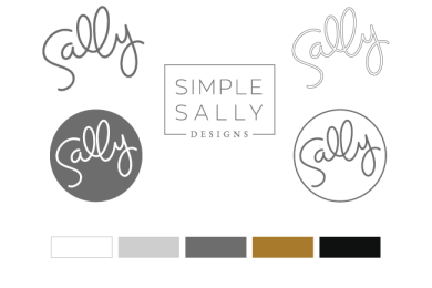 Simple Sally style guide designed by Simple Sally Designs