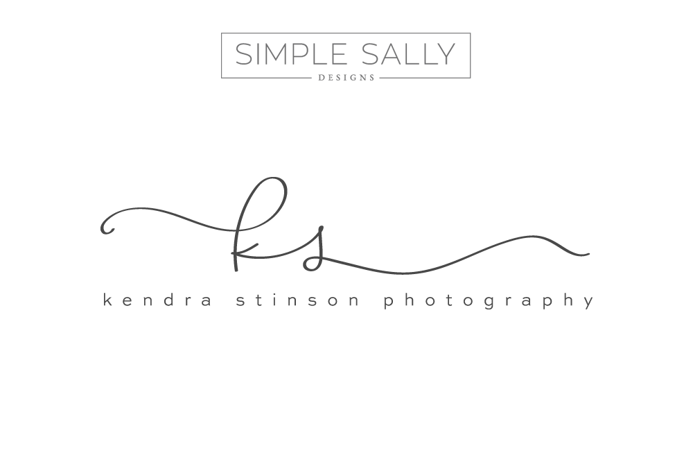 simple logo design for creative businesses kendra stinson simple sally. Black Bedroom Furniture Sets. Home Design Ideas