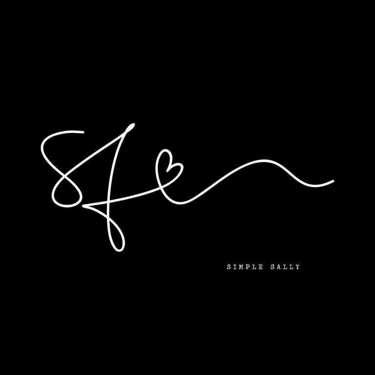 #initials #tattoo #simpletattoo #simplesally