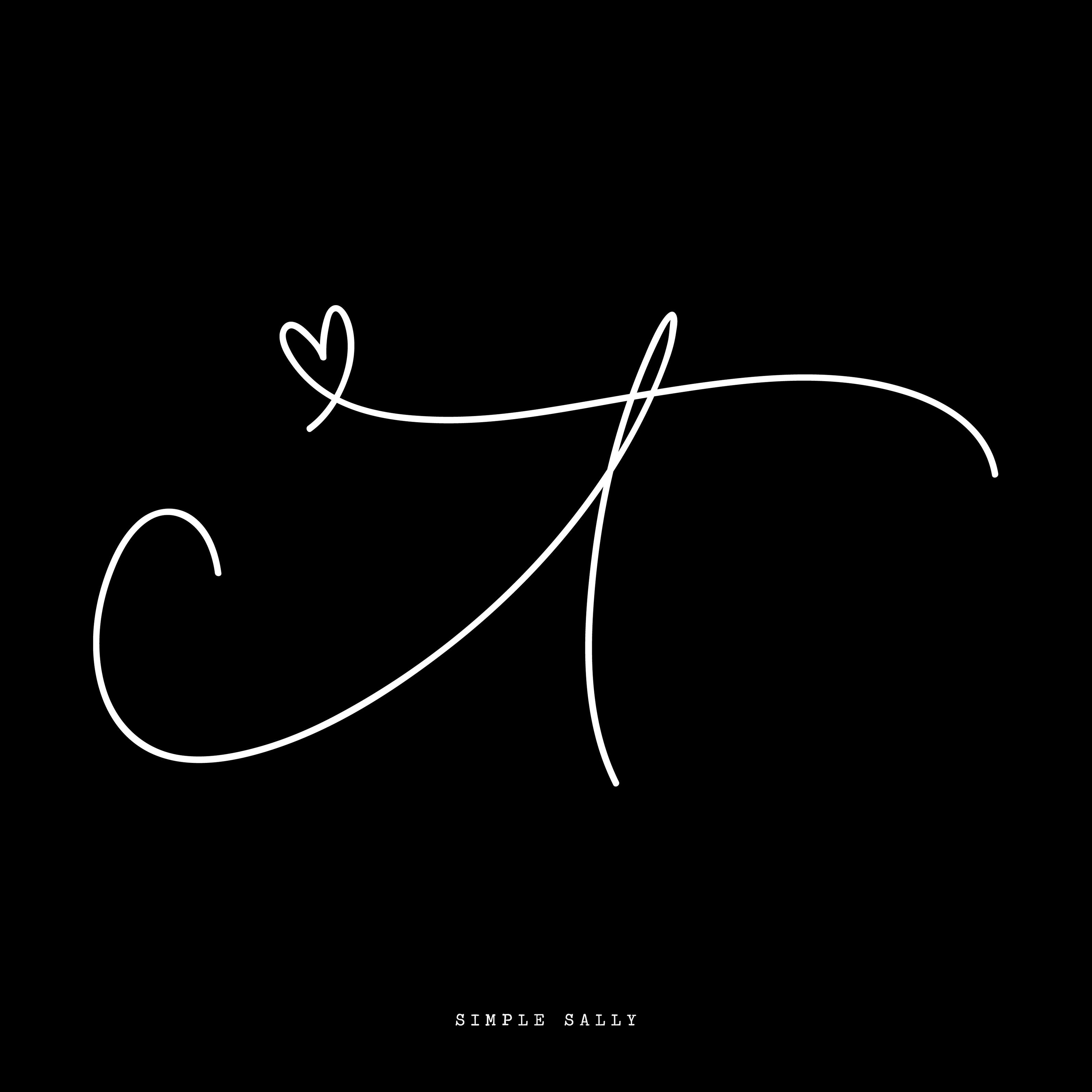 #initials #tattoo #initialstattoo #tinytattoo #simpletattoo #simplesally