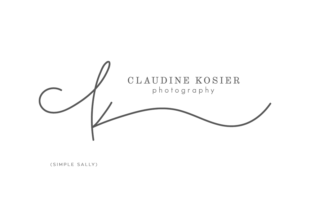 Simple Logo Design For Entrepreneurs Claudine Kosier